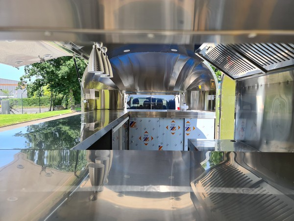 New Airstream Catering Trailer with EC Type Approval