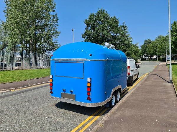 Road Legal Airstream Catering Trailer