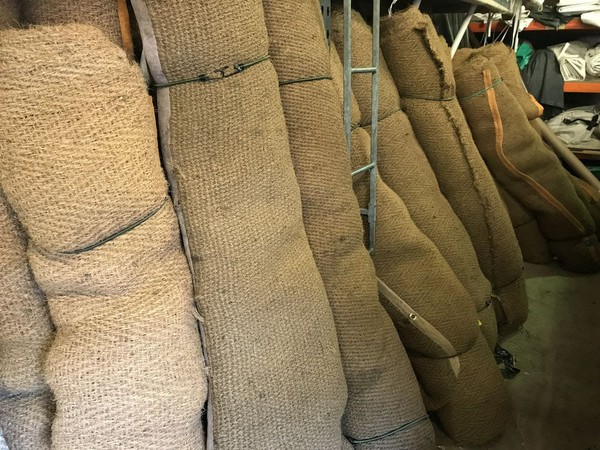 rolls of coco matting