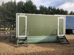 Luxury Wessington Cabins 2+1 recirculating toilet units