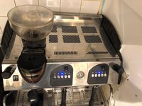 Two Group Expobar Coffee Machine