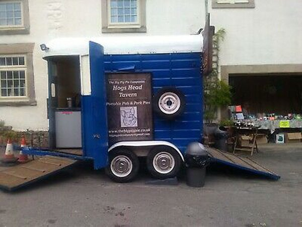 Pub / Bar Converted Horse Trailer