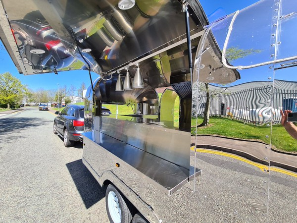 Airstream Mobile Catering Trailer