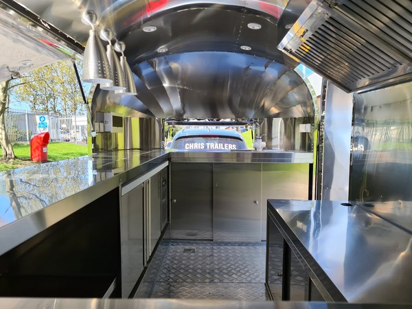 Buy Used Airstream Mobile Catering Trailer