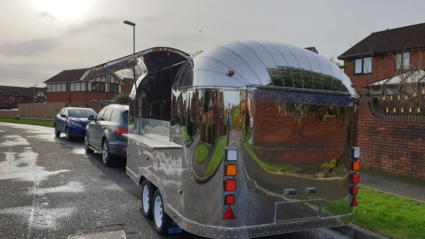 Airstream Mobile Catering Trailer for sale