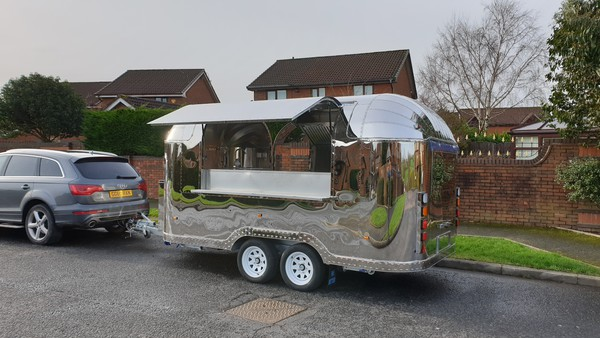 Road Legal Airstream Mobile Catering Trailers