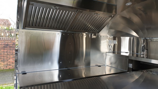 Airstream Mobile Catering Trailers In stock
