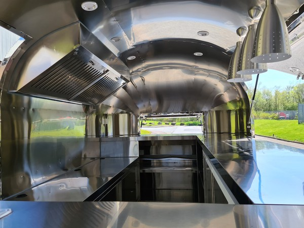 Second Hand Airstream Mobile Catering Trailer