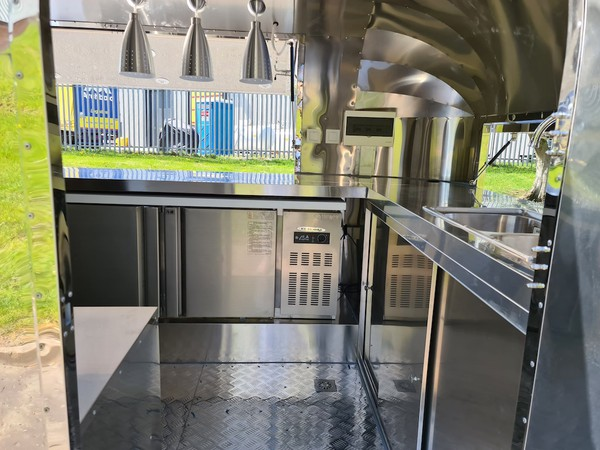 Selling Airstream Mobile Catering Trailer