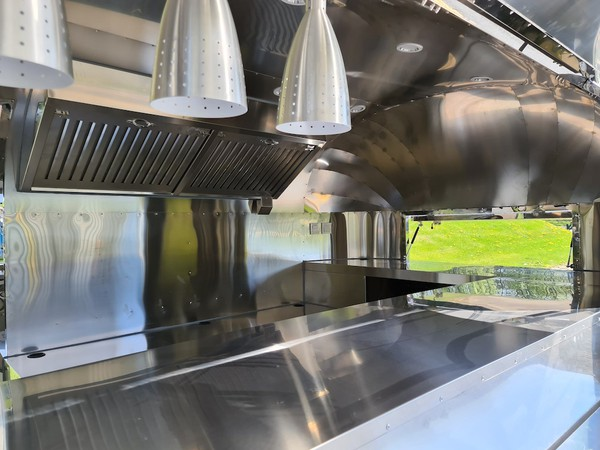 Used Airstream Mobile Catering Trailer