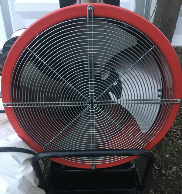 Secondhand indirect heater