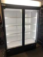 Staycold Double Sliding Door Display Chiller