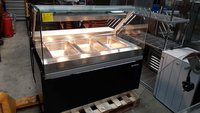 Infrico Dry Heated Bain Marie Display with Heated Lights