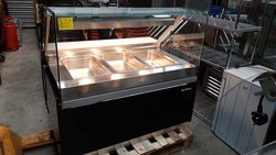 Infrico Dry Heated Bain Marie Display with Heated Lights