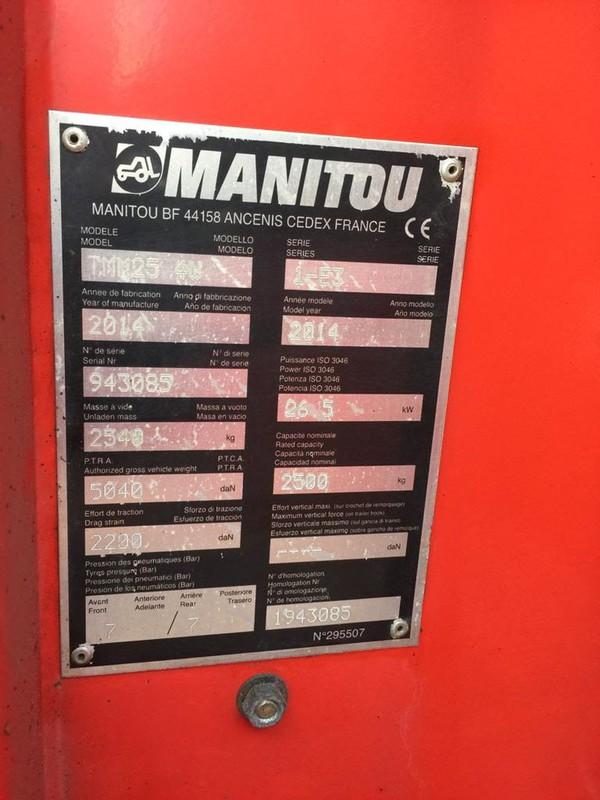 Manitou TMM25.4W