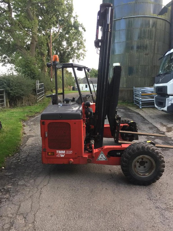 Truck mounted fork truck for sale