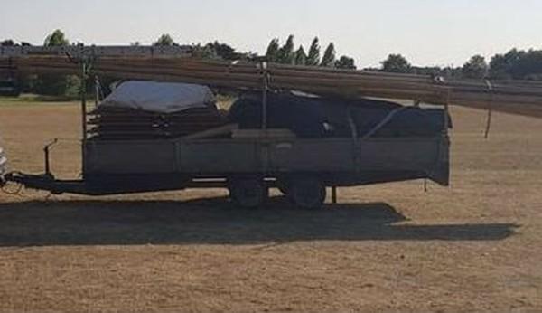 16ft drop side trailer for sale
