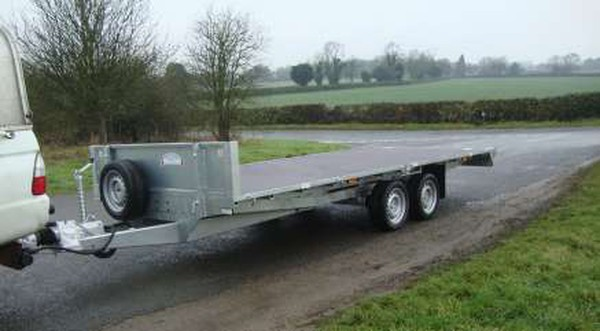 16ft flat bed trailer for sale