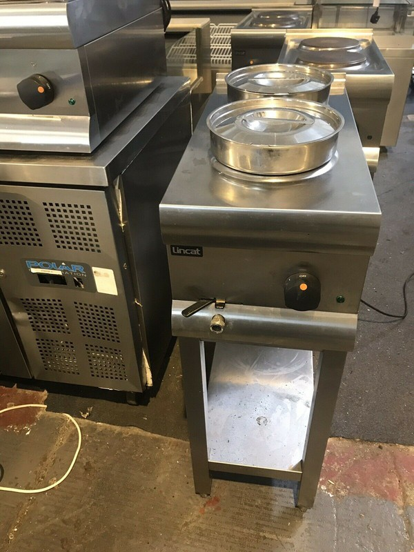 Lincat BS3W Electric 2 Pot Wet Bain Marie