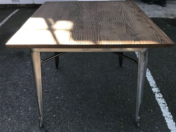 Buy French Bistro Tables Tolix Tarnished