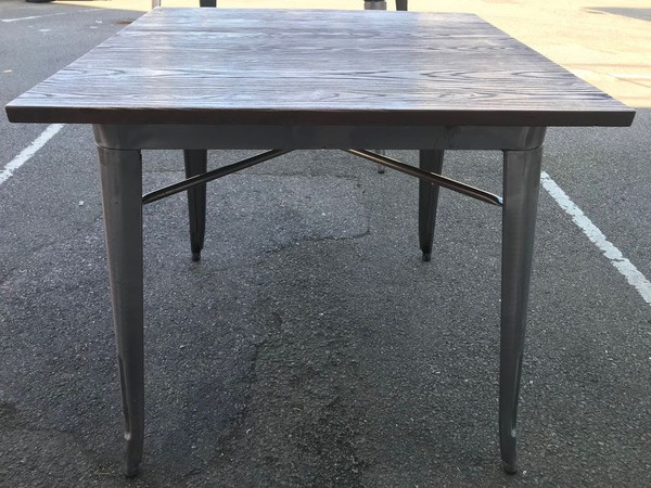 Selling French Bistro Tables Tolix Tarnished