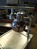 2 lamp Alto Shaam Carvery Station
