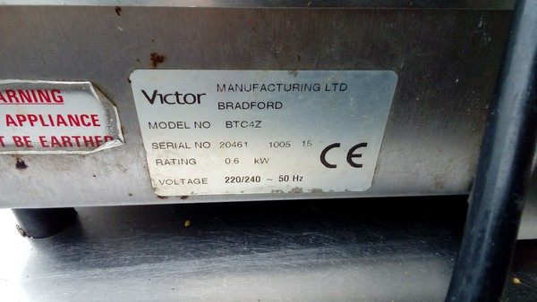 Victor Table Top Carvery Unit for sale