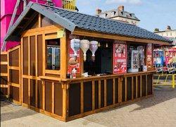 Christmas hut for sale