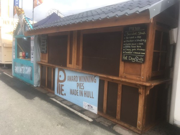Double food stall for sale