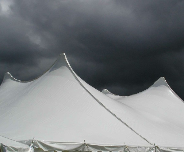 Tension roof marquee for sale