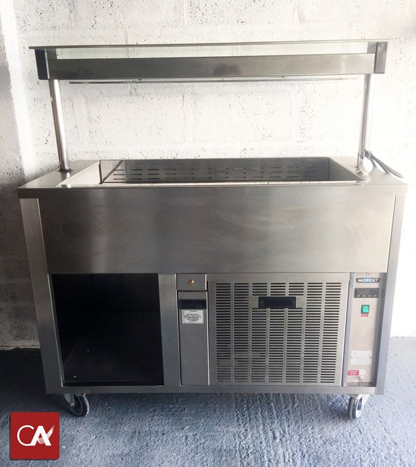 Used Moffat Chilled Display Unit Carvery Display Fridge
