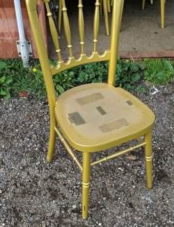Cheltenham banqueting chairs for sale Gold