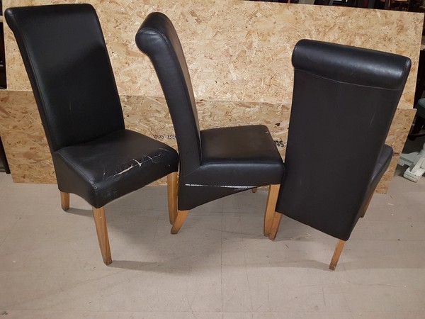 Leather Dining Chairs For Sale Derby
