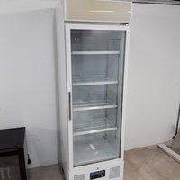 Used Polar DM076 Single Upright Display Fridge