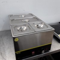 Used Buffalo S007 4 Pot Wet Bain Marie (9968)