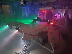 Star Wars X-582 starship bed