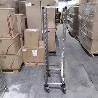Used Stainless Steel Gastro Trolley