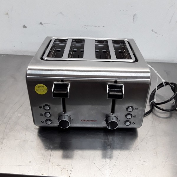 Used Caterlite CP929 4 Slot Toaster