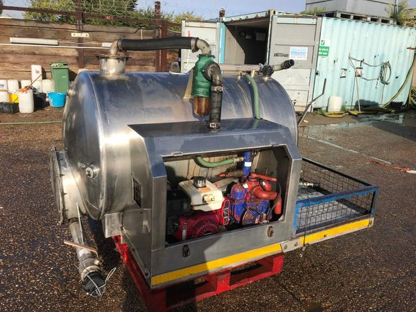 Secondhand Rapide Vacuum Pump Tank - Essex