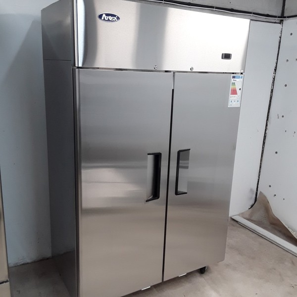 New B Grade Atosa YBF9218GR Stainless Double Upright Fridge(A10002)