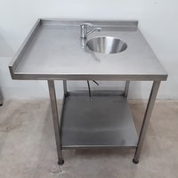 Used Stainless Steel Hand Sink (9999)