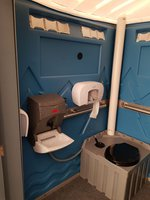 Self Contained Chemical Disabled Toilet -