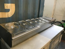 Genfost Toppings Unit With 7 Pans - Bedford, Bedfordshire