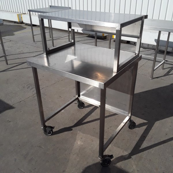 80cm stainless steel work station