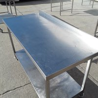 1.43m stainless steel table