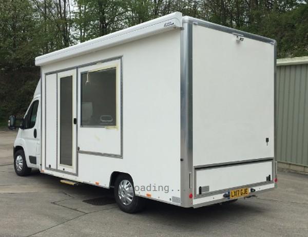 New Build Under 3.5T Exhibition Van