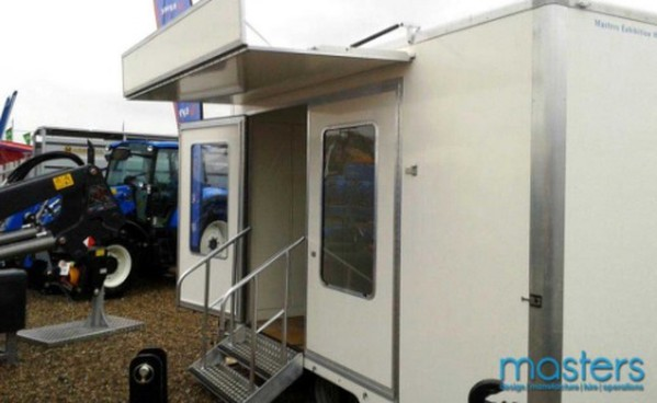 Exhibition trailers in Kent