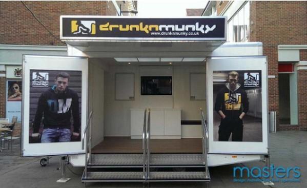 multi-purpose 4.2 metre event trailer