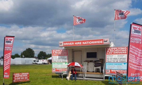 Low Height Exhibition trailer for sale
