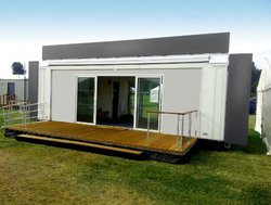 8m Exhibition - Self Loading And Extending Container Type Hospitality Units (Pavomatic) - Kent